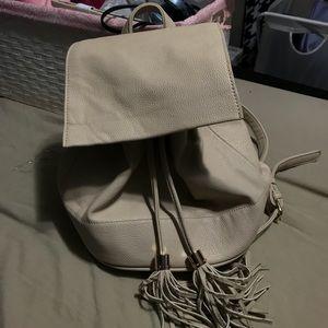 Forever21 beige backpack